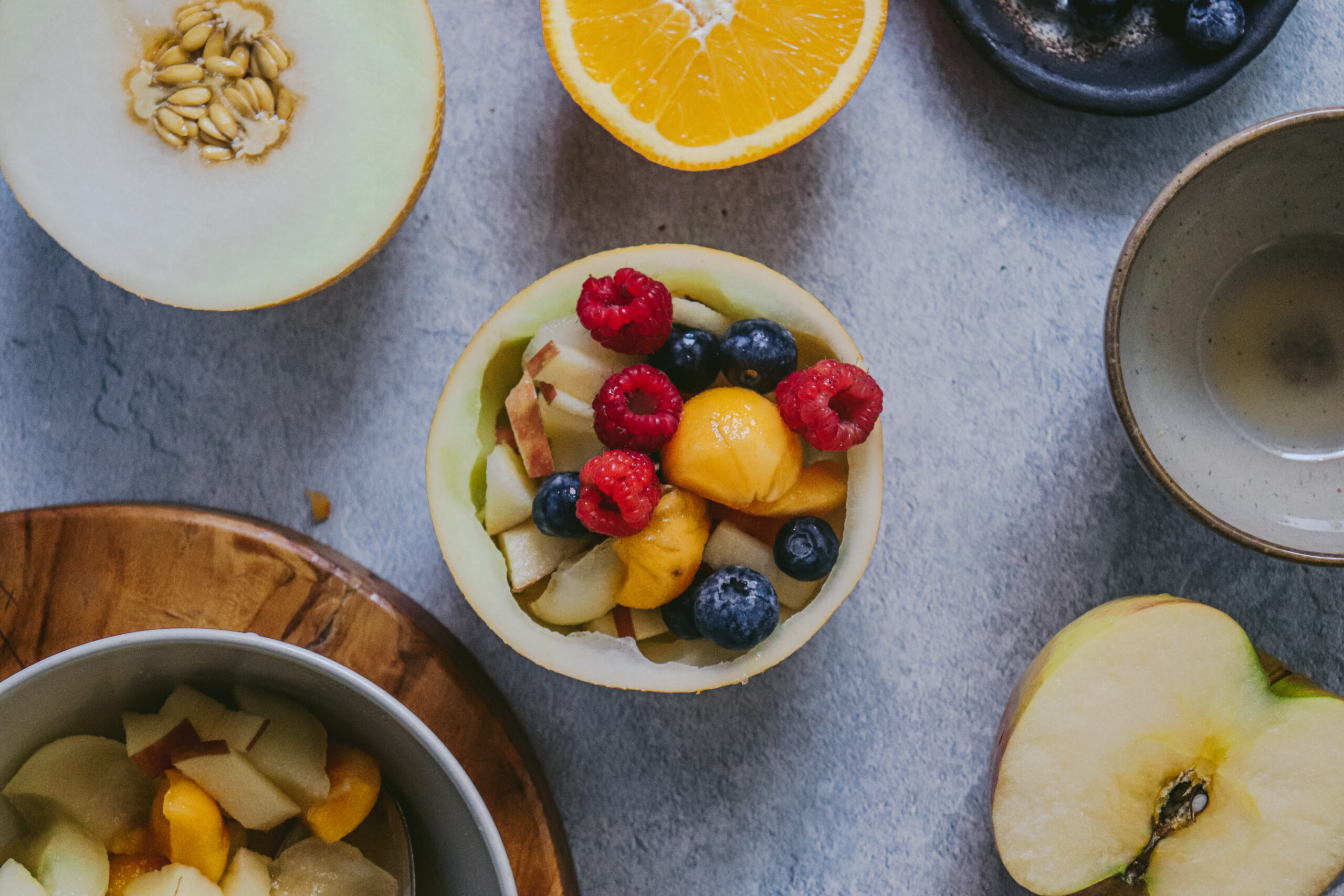 Macedonia de fruta y Lililup