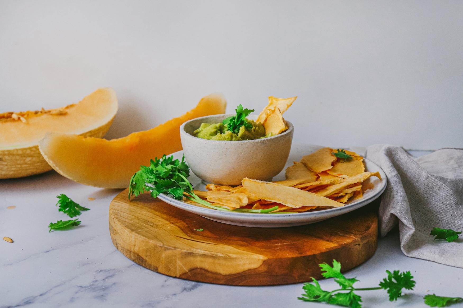 Chips Melón Waikiki con Wacamole