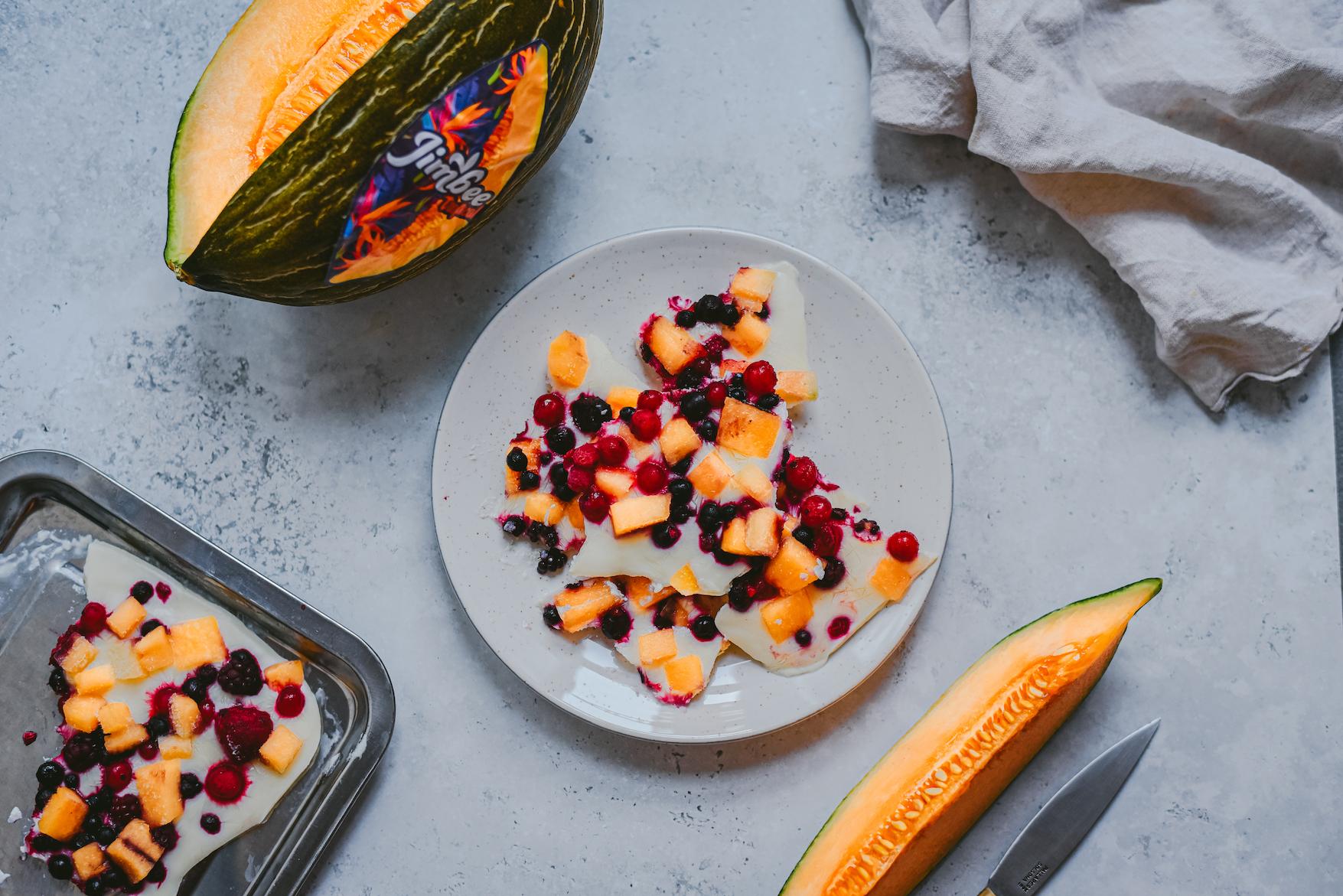 Snack de Yogur con Jimbee Tropical