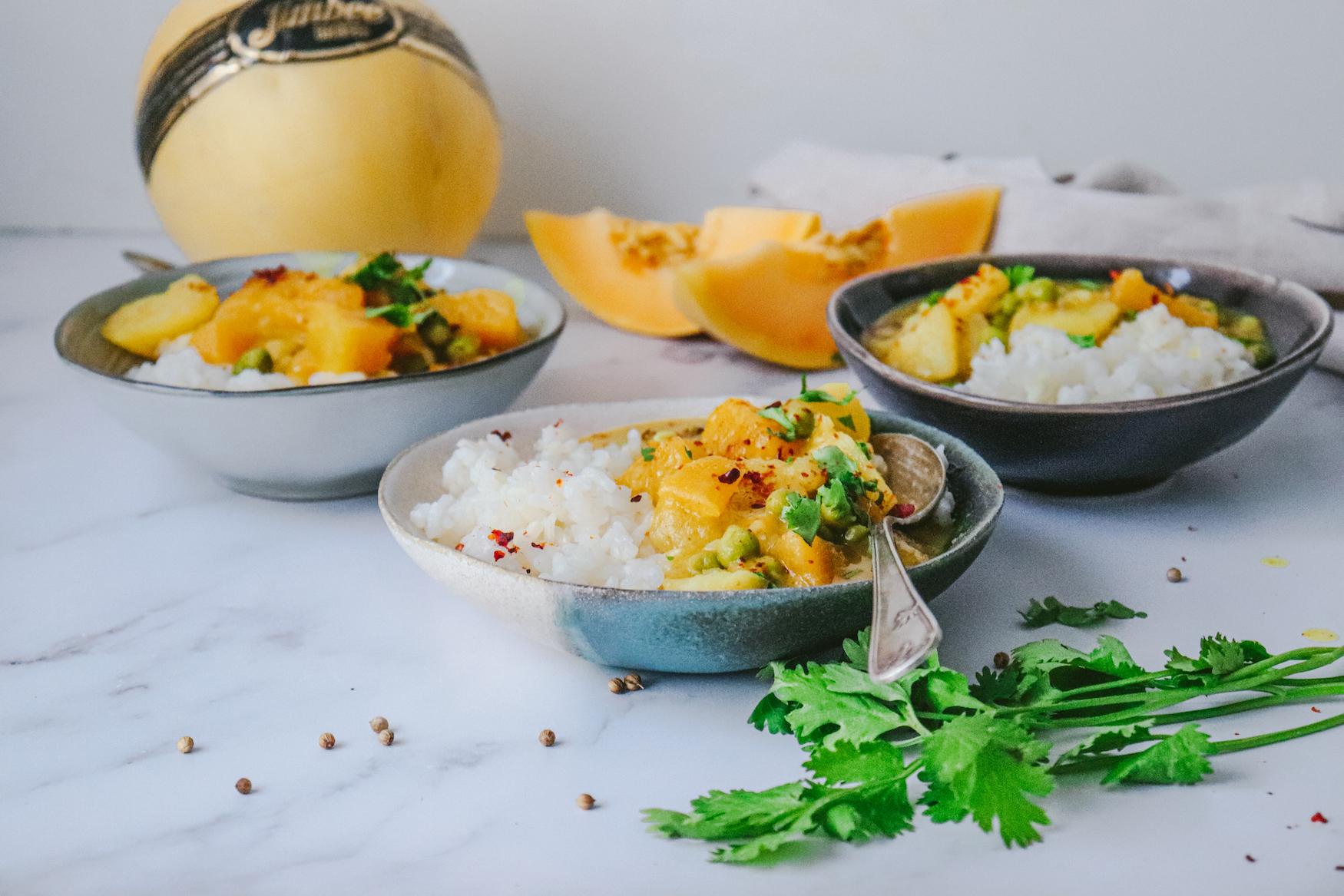 Curry de Melón Jimbee XL y Patata