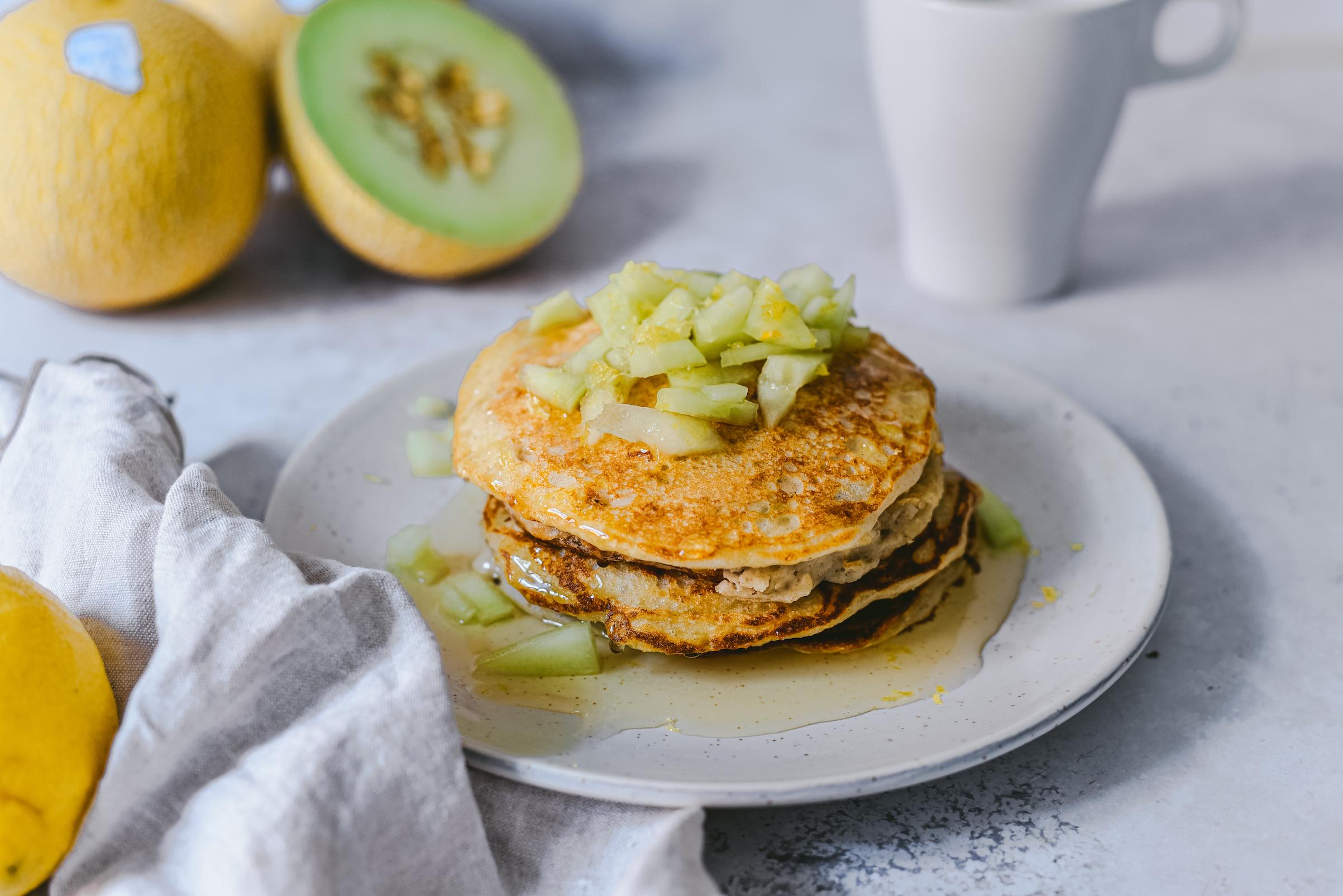 Pancakes con melón Lililup