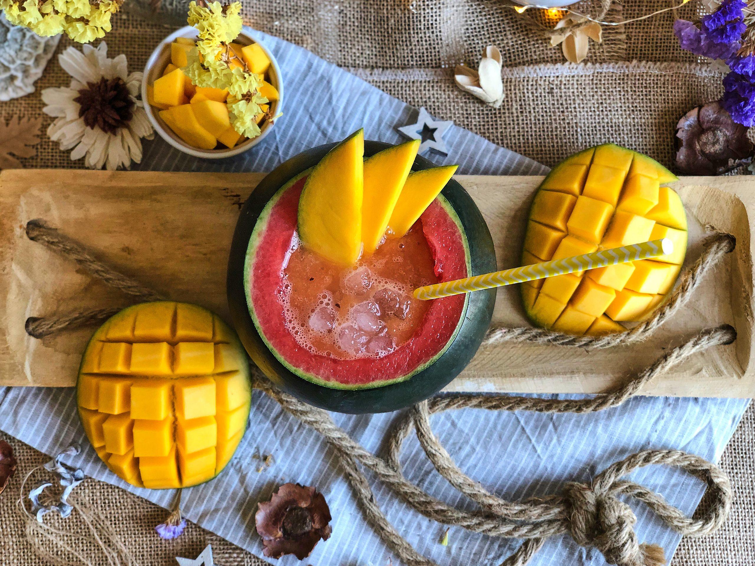 Cóctel Mango Mini Sandía Kisy Kiss