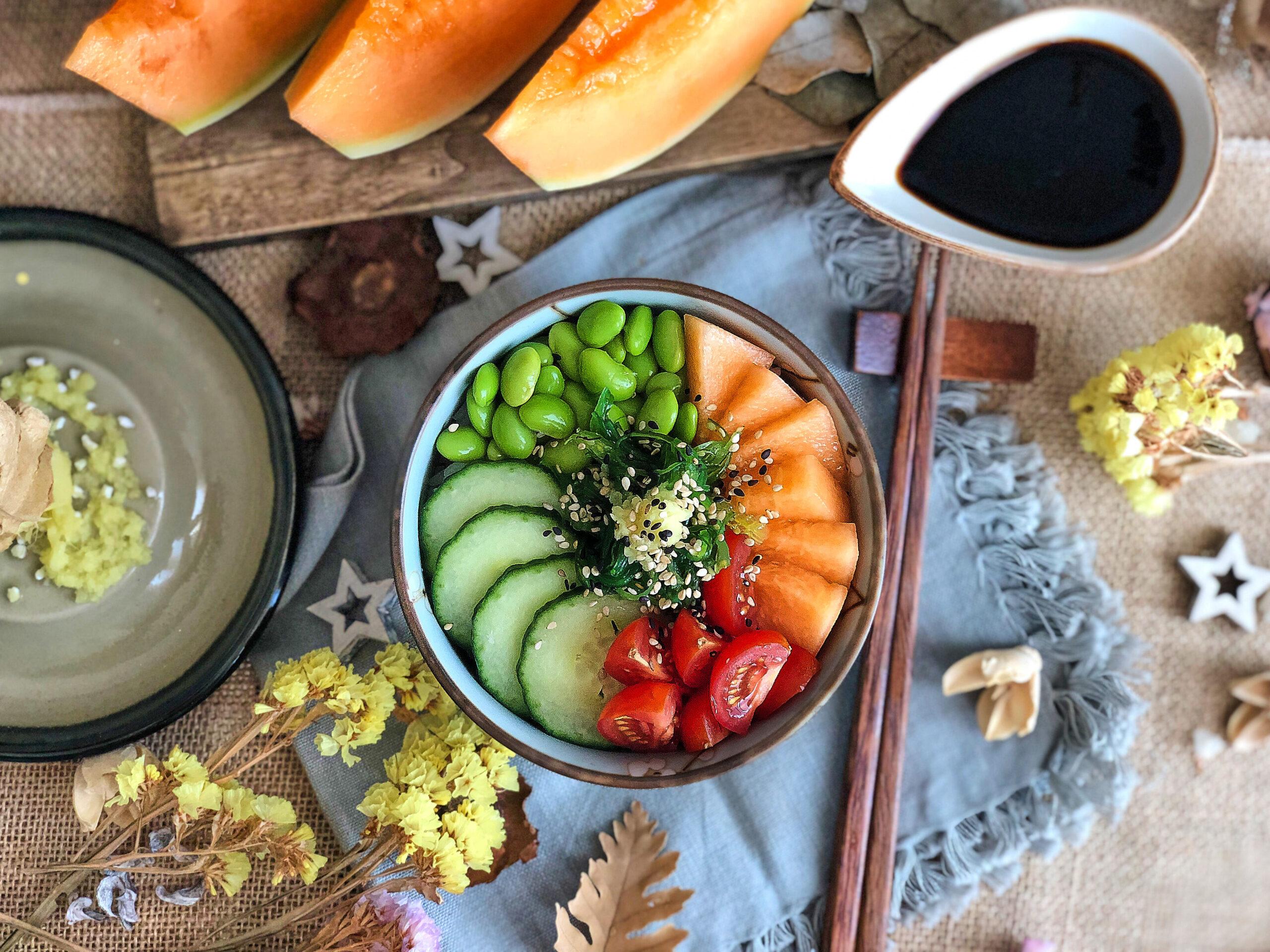 Poke bowl vegetal con Jimbee XL