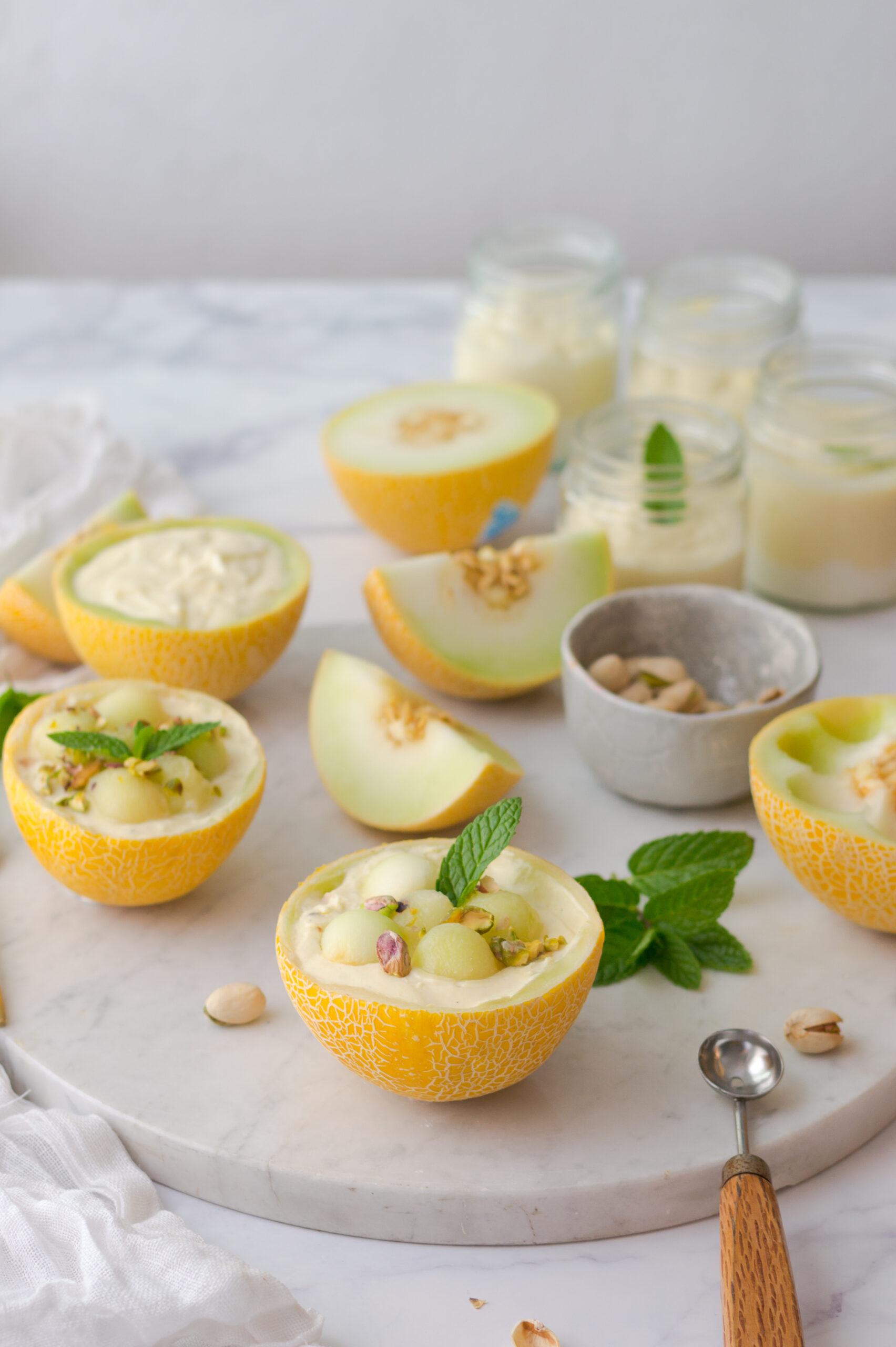 Crema de melón Lililup